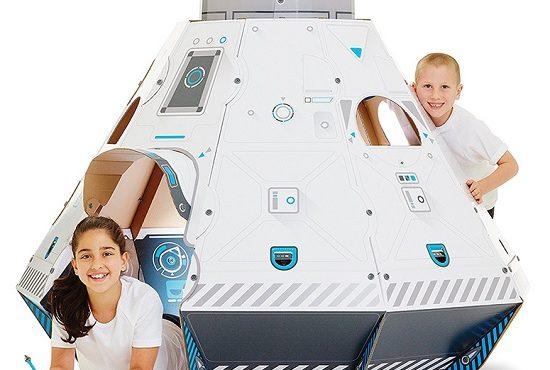 STEM學習項目:砌4尺高太空船