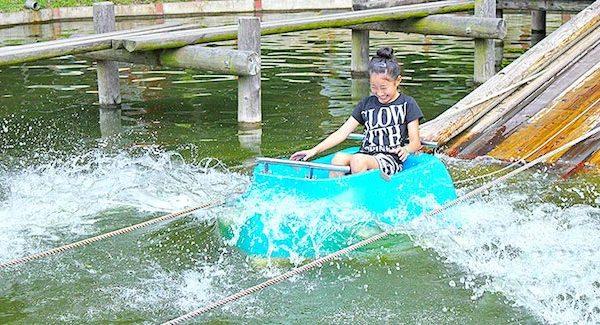去東京玩.親子水上競技