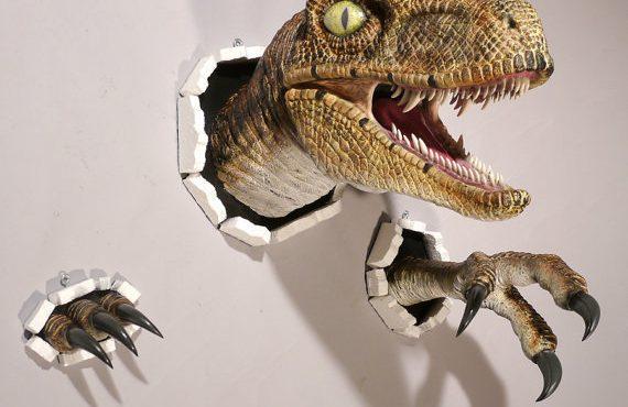 限量版「恐龍wall」・必買入牆