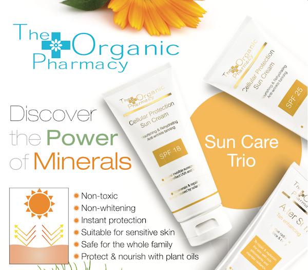 送總值$1980 英國「The Organic Pharmacy」有機產品.世界綠色組織推介