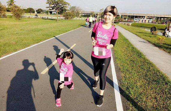 親子齊跑 Barbie Run@中環海濱