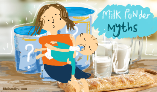 奶粉餵B.6大誤解