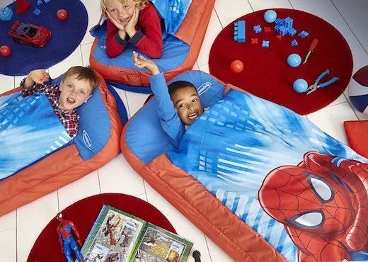 「充氣」兒童床‧露營/外遊必備