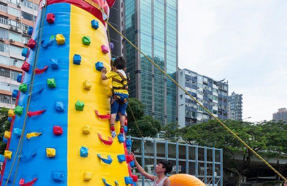 免費玩職業體驗+攀石遊戲@建造業安全周嘉年華