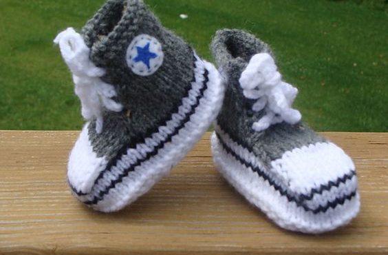 針織「名牌波鞋」.BB溫暖版
