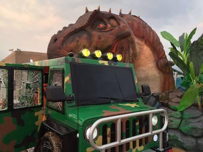 台灣「恐龍樂園」.12恐龍「頂樓」出沒