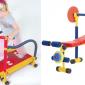 兒童版「健身器材」.放電必備