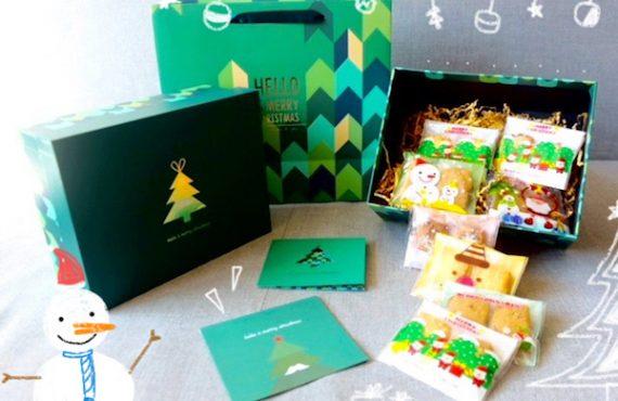 送總值$2,440「Oi Cookies and Cakes」聖誕禮盒.全人手製