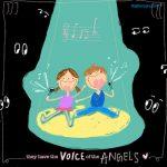 很喜歡聽小朋友唱歌