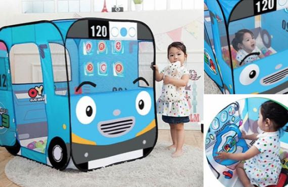 「私家巴士」帳篷連波波池.韓國出品