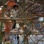 泰國樂園.「激光」探險+挑戰「繩網塔」