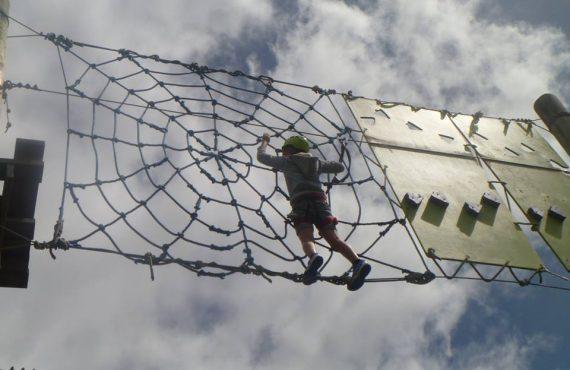 新西蘭「火箭繩索樂園」.2歲BB都瘋狂