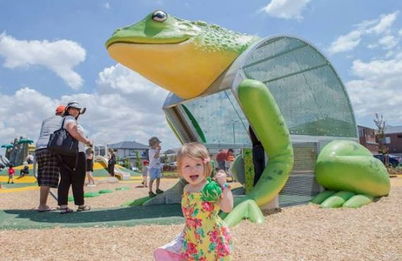 """跟「旅行青蛙」去澳洲""""彈跳""""遊樂場"""