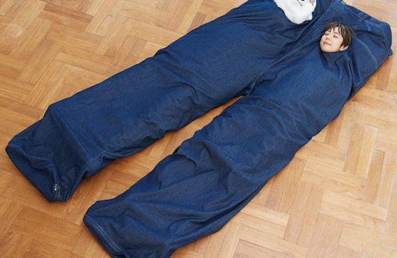 「睡褲睡袋」2人前.「分隔」親密