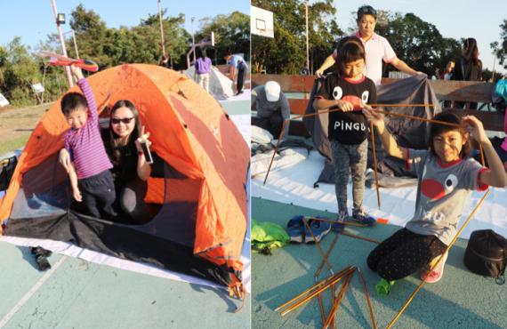免費玩轉烏溪沙營地+康樂設施