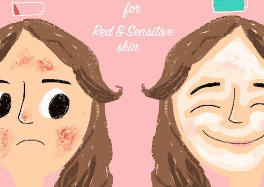 敏感膚「泛紅」.4款「舒緩面膜」