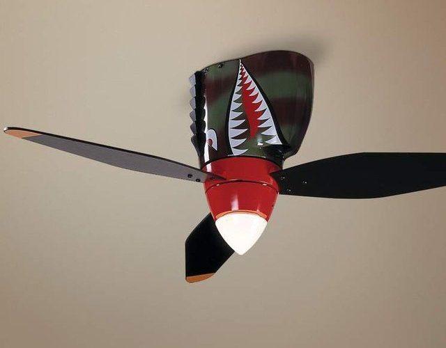 World War II「戰機吊扇」.型入兒童房