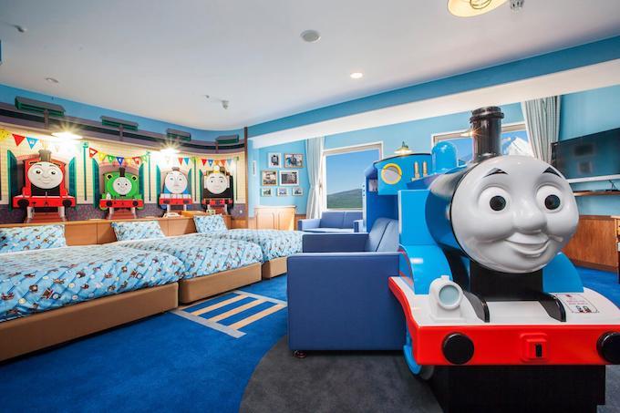 旅日必住「親子渡假房」.Thomas火車 + Gaspard and Lisa