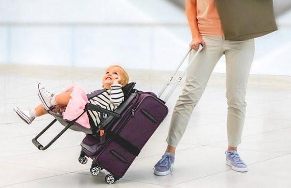 行李喼「BB坐椅」・便攜+玩樂