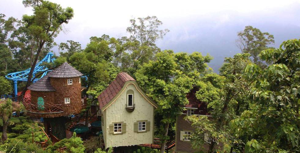 台灣「森林莊園」.親子「瞓樹屋」
