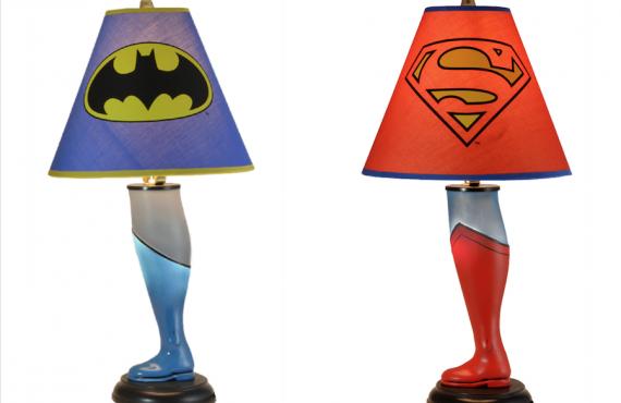 Superhero「腳燈」.踩入兒童房