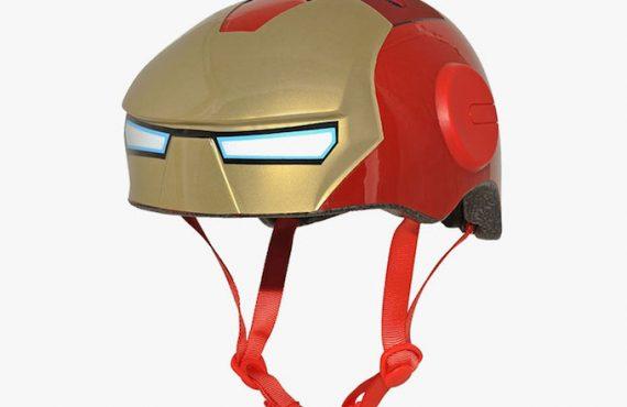 「Iron Man」頭盔.親子「型踩車」
