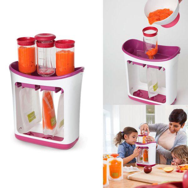 新鮮「果汁包裝」DIY.幼兒隨時飲
