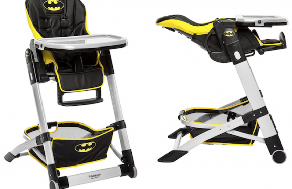 Batman餐椅・隨BB「成長變身」