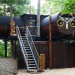 倫敦「 貓頭鷹」樹屋.親子渡假村