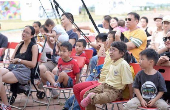 親子齊玩「野餐交響樂」 @中環海濱