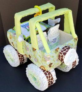 超型「尿片車」・新生BB禮物