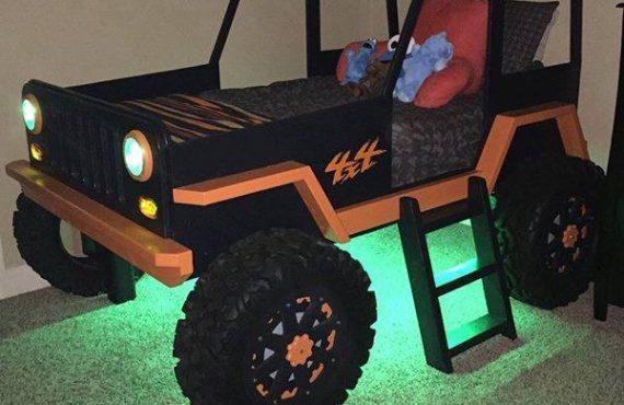 「Jeep兒童床」計劃・型住瞓