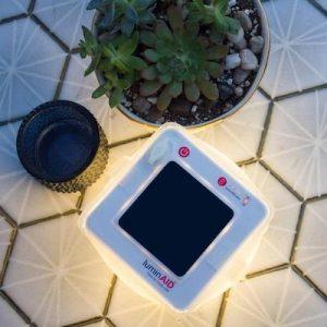太陽能「平板燈籠」.超型登場