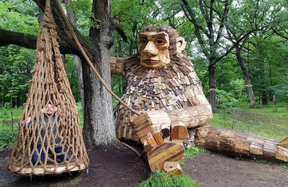 「木巨人」公園.超正「親子景點」