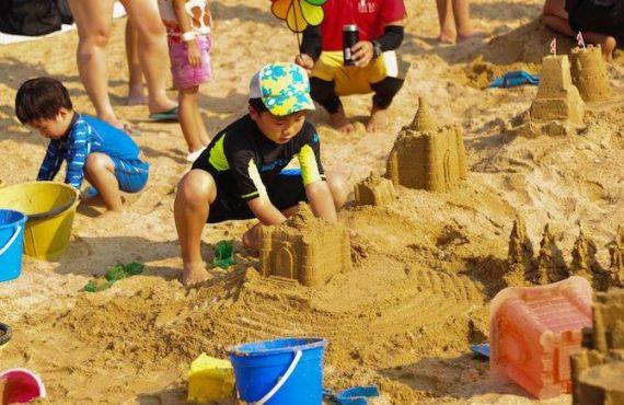沙灘節 + 堆沙堡壘同樂日@淺水灣