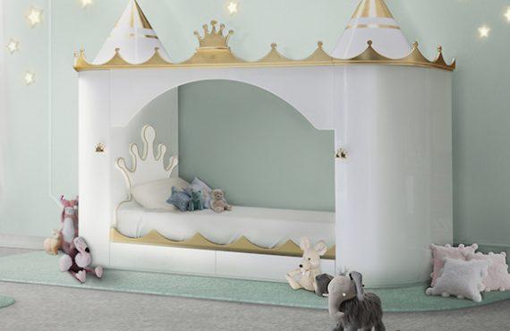 「走入城堡」兒童床・「童話」睡眠