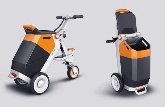 師奶「手推車+單車」・2合1「型住買餸」