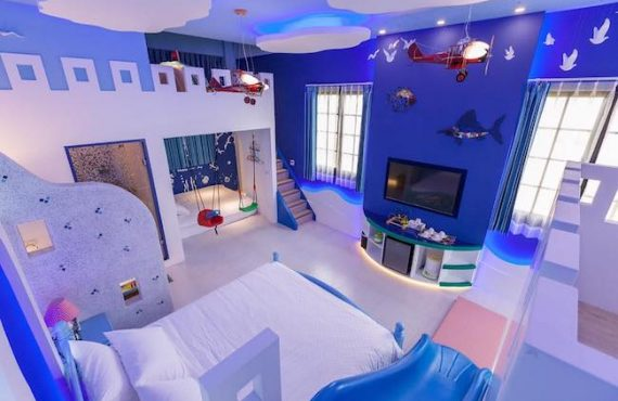 台灣「地中海」親子房 + 秘密城樓