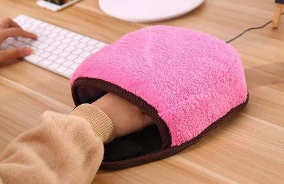 「加熱Mouse Pad」・抗冬暖手
