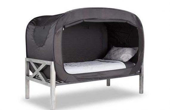 一家「收納帳篷」・隨時「隱藏」