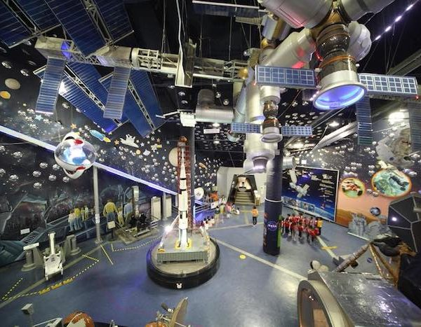 韓國親子「太空樂園」‧NASA撐場