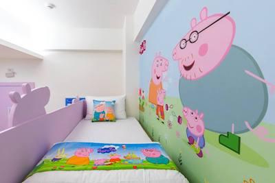 Peppa pig+ Pokemon走入民宿