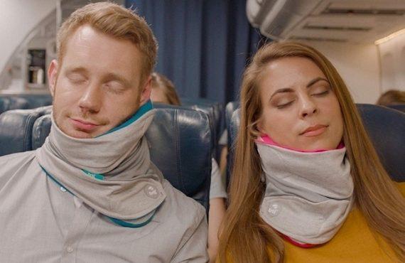 自動化「旅行頸枕」.來自英國