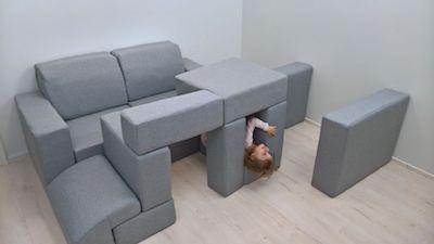 「積木遊戲」傢私.任砌任坐任玩