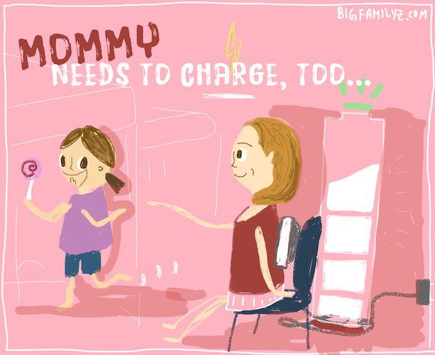 媽媽「忙中充電」3時段