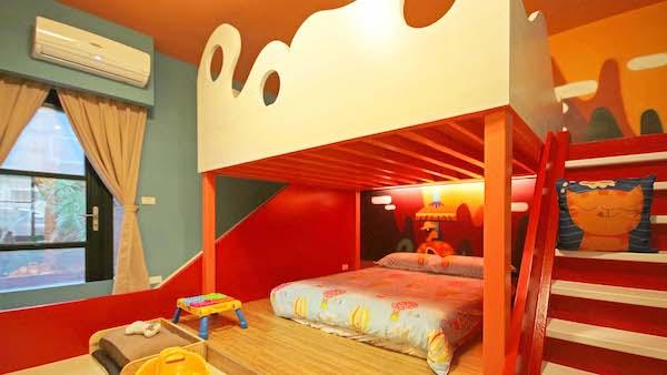 親子「彩繪塗鴉」民宿.由樹屋開始
