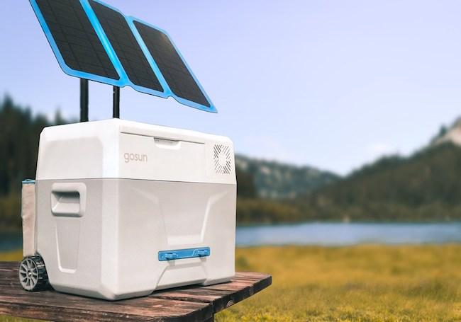 太陽能冰箱‧無冰+便攜