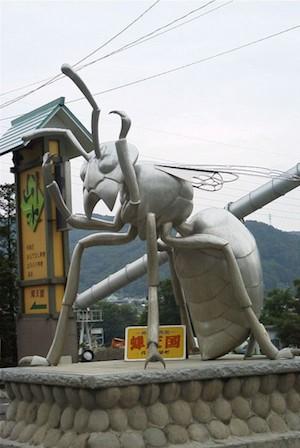 「巨型昆蟲」出沒注意‧旅日「親子爬」