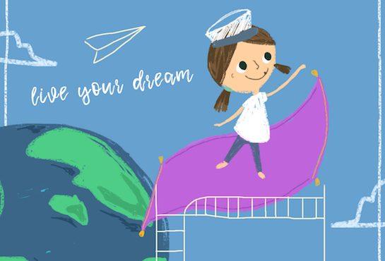孩子「改變現實」的夢想・超寶貴