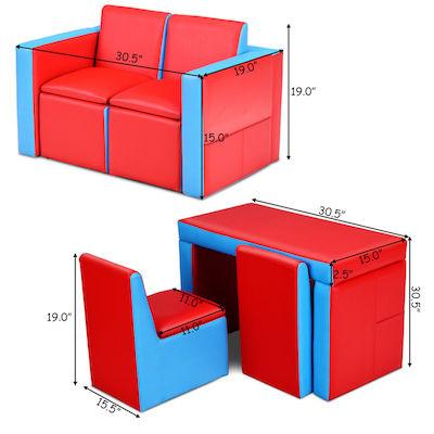 「舉一反三」Sofa.坐+做功課+收納